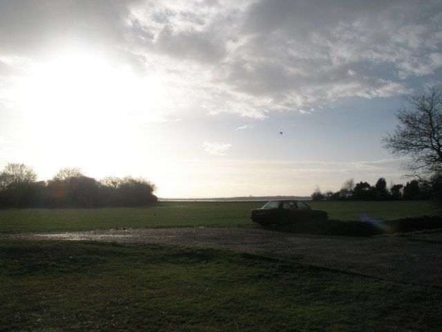 Car park at Nutbourne