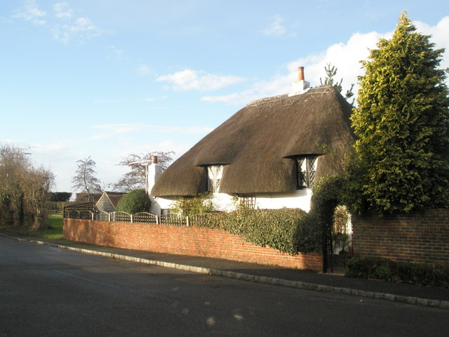 Thatched cottage opposite The Tamarind.