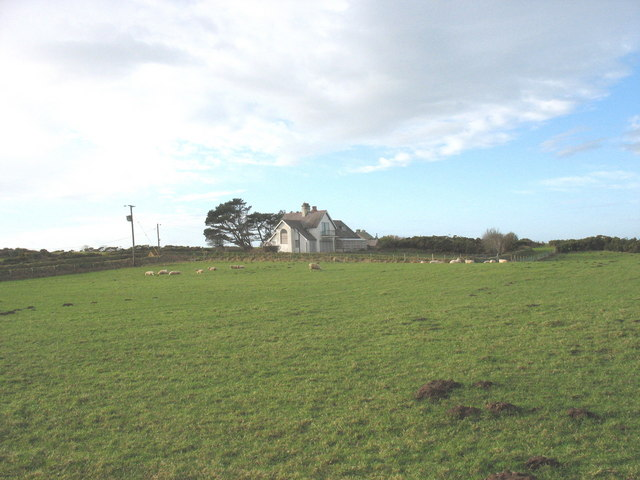 Bwthyn Gwyn from the coastal path