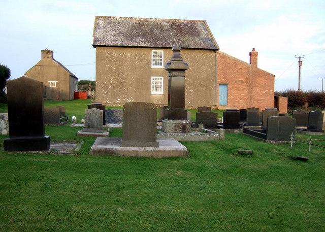 Penuel,  burial ground