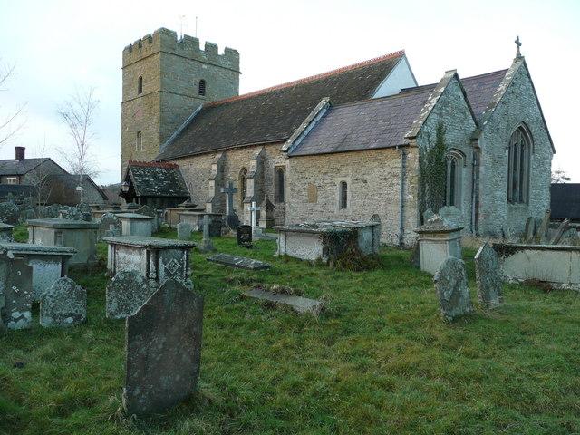 St. Swithin's church, Clunbury