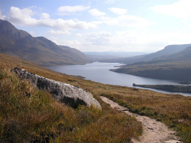 The path up Stac Pollaidh