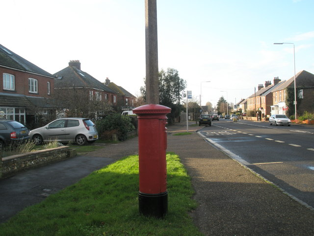 Postbox on the A259