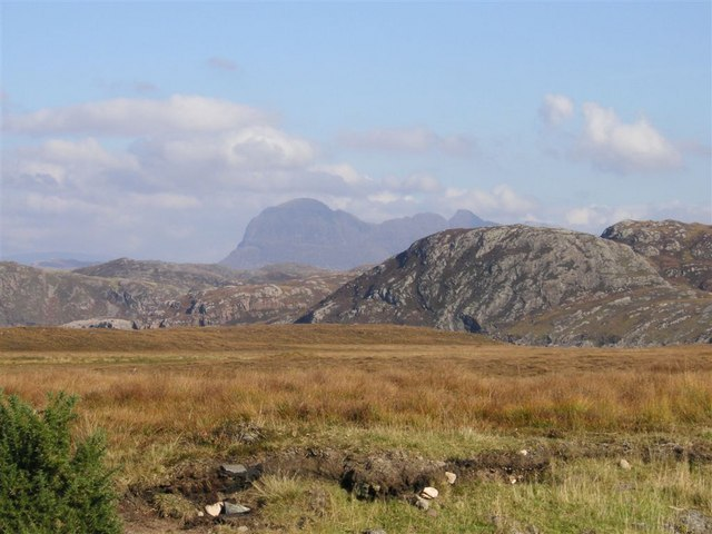 Suilven from the Achiltibuie Road