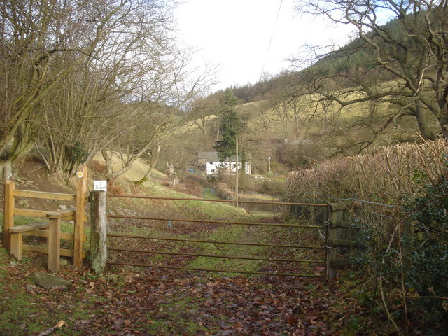 Footpath at Honeyhole