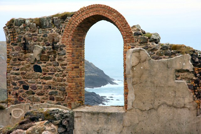 Remains of mine at Botallack
