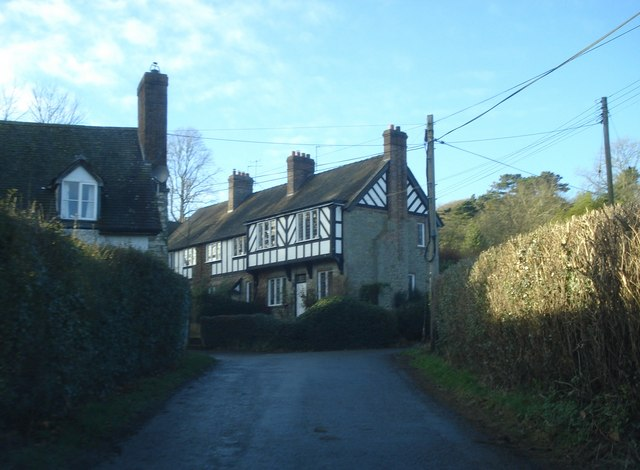 Part-timber-frame house at Bedstone