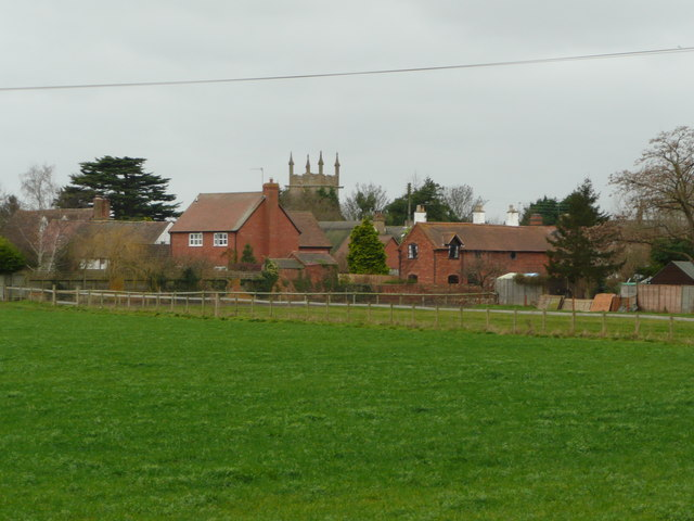 Offenham village