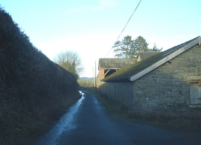 Farm buildings at Bedstone