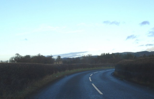 Bend in the B4367