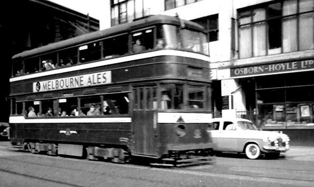 Leeds tram, Neville Street.