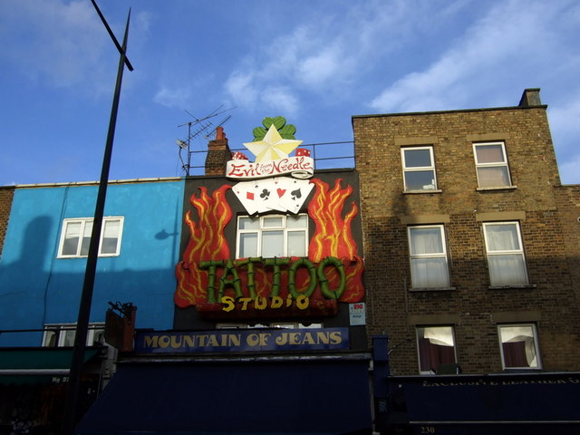 Tattoo Studio, Camden Town