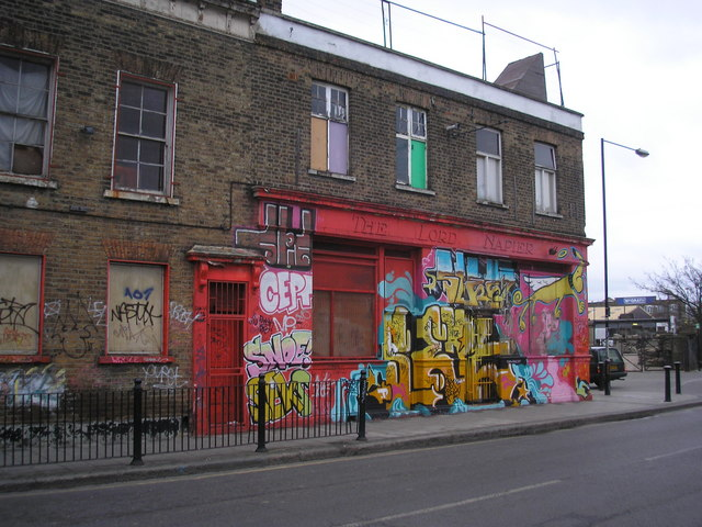 The 'Lord Napier', Hackney Wick