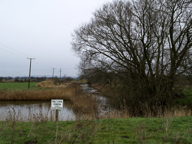 The former Market Weighton Canal