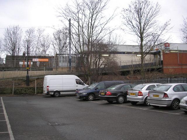 Entrance to Hackney Central station