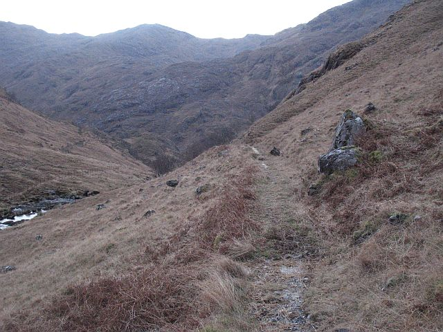 One of Kinloch Hourn's fine paths