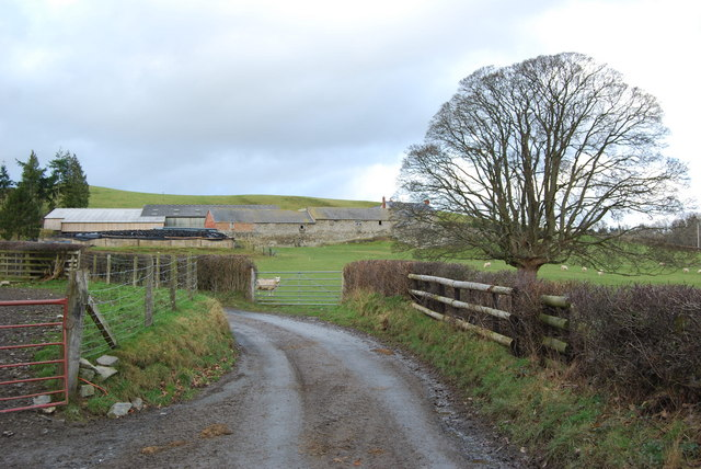 Farm steading at Cilmawr