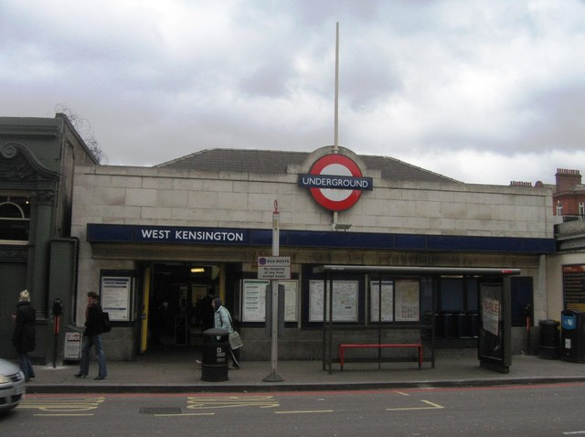 West Kensington tube station