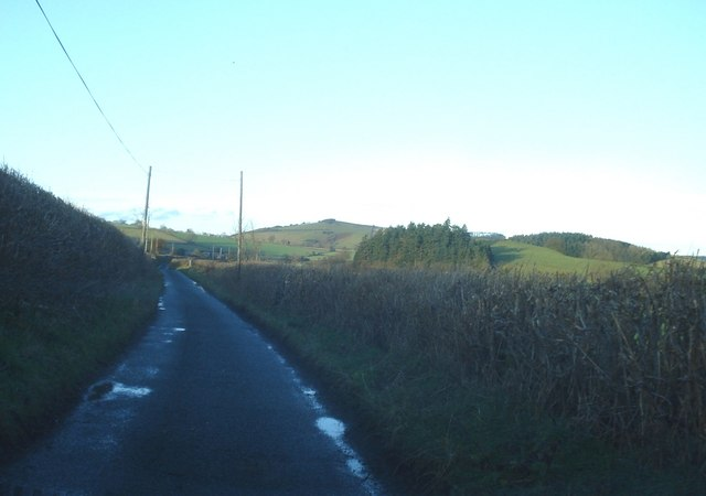 Lane to Hopton Castle