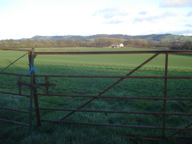 Mixed farming at Cresswell Farm