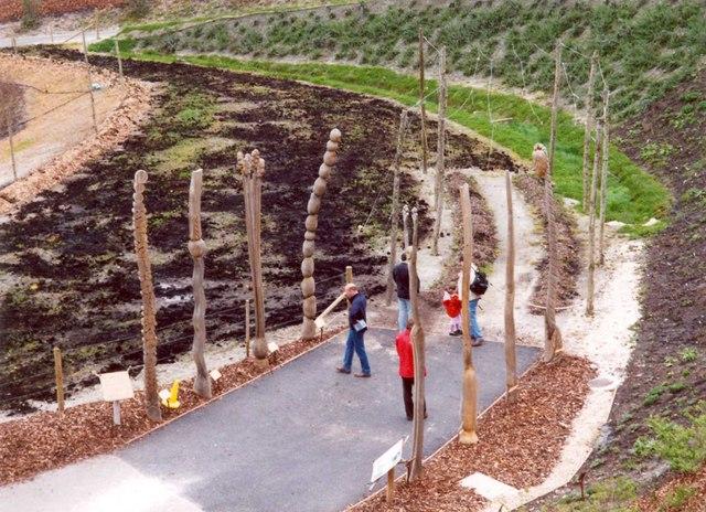 Hops sculpture, Eden Project, St Blaise CP
