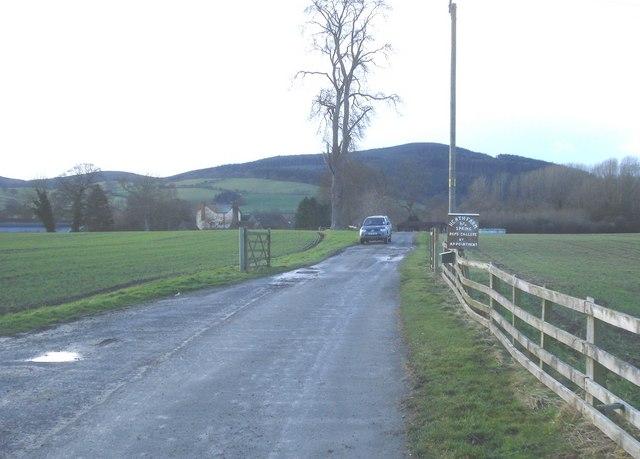 Entrance to Heath Farm