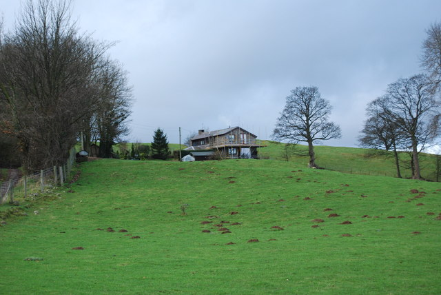Country house being extended
