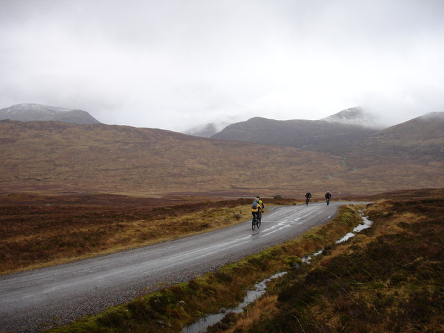 The road to Corrour