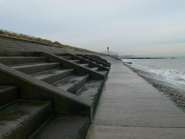 Sea defences, Prestatyn