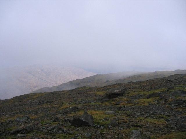 Summit of Creach Beinn