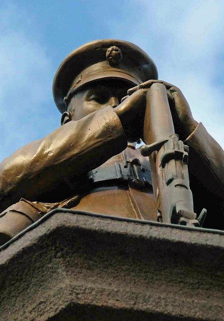 Solemn Soldier