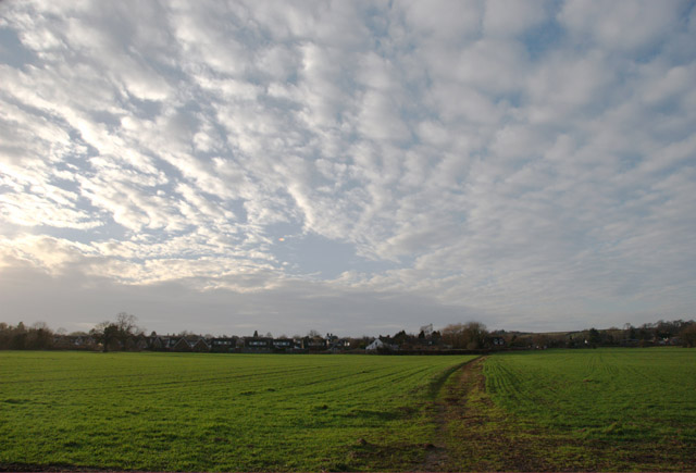 Sky over Aston-on-Trent