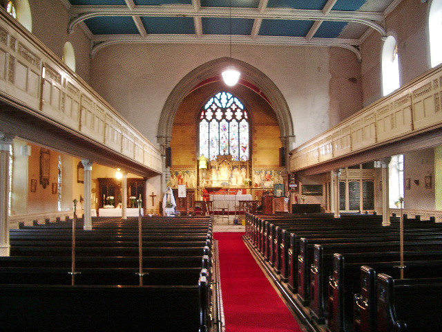 St James Church, Church, Interior
