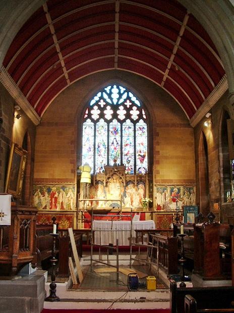 St James Church, Church, Altar