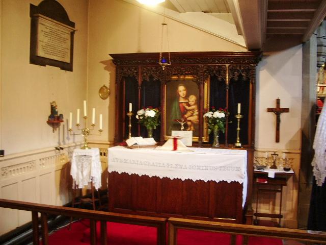 St James Church, Church, Side Altar