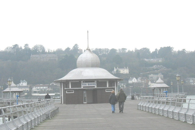 The Tea Rooms at the end of Bangor Pier