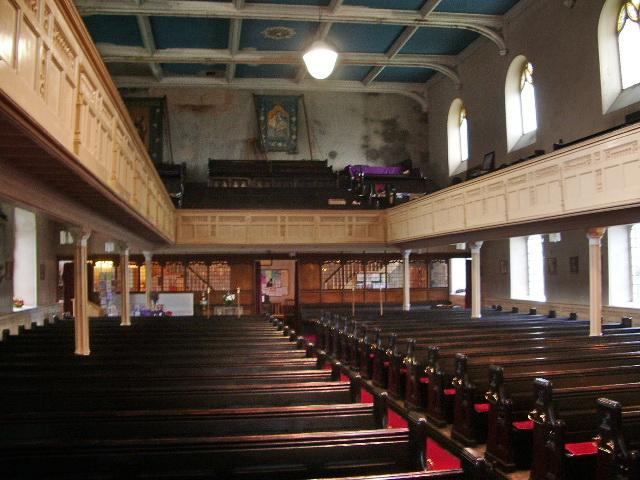 St James Church, Church, Interior