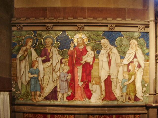 St James Church, Church, Mosaic