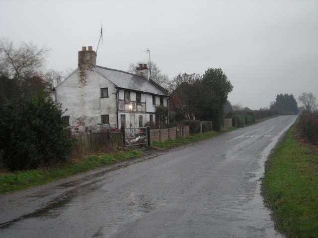 Houses beside a lane.