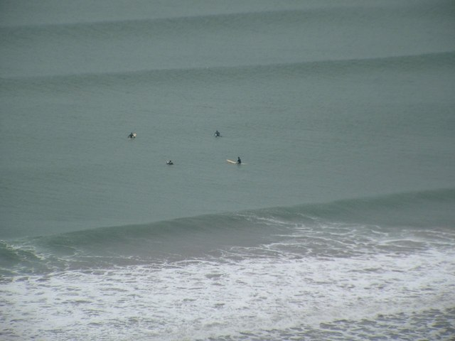 Whitsand Bay Surfers