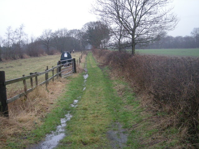 Bridleway from Wytheford Road to The Groves