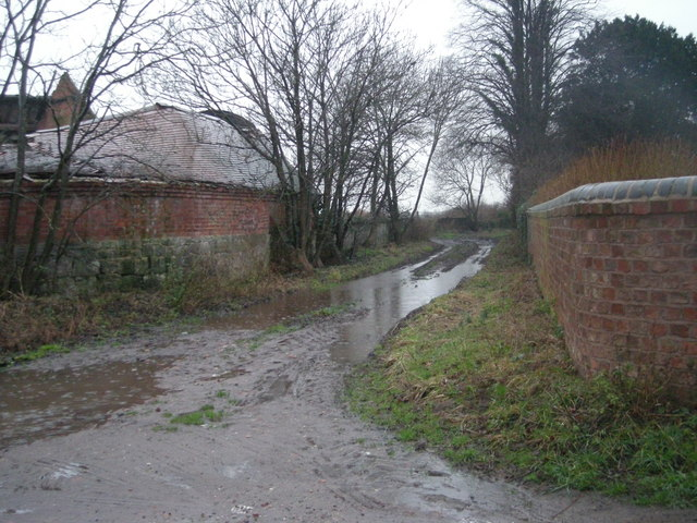 Shropshire Way at Great Wytheford