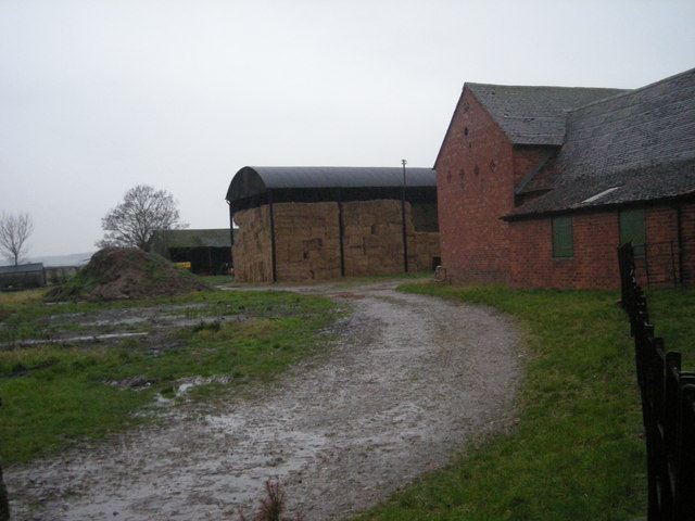 Poynton Manor farm buildings