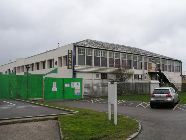 The old Reception Building, Butlin's Holiday Camp