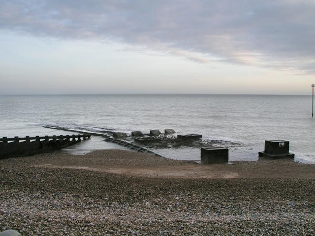 Outfall of Aldingbourne Rife