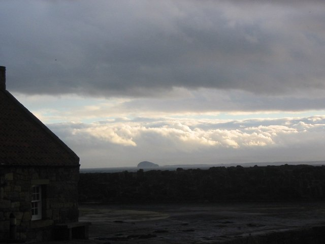 Bass Rock from Pittenweem Harbour