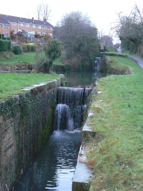 Disused Lock on Mon & Brec Canal