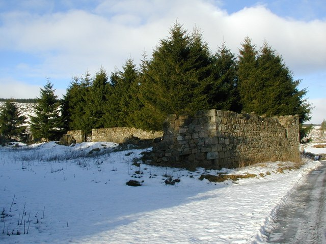 Ruin of Corriebreck.