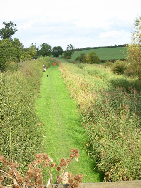 View from the bridges on Jericho Lane, Barkestone (1)