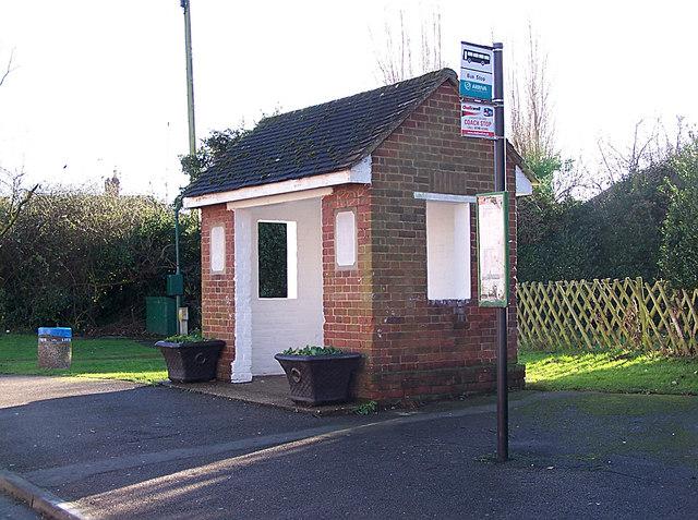 Coronation bus shelter, Newington